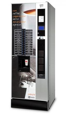Office Vending Machines Drinks Amp Snacks Roast Amp Ground