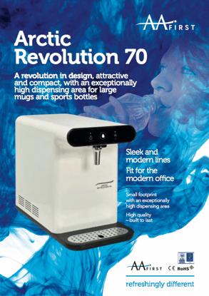 AA Water Cooler Arctic Revolution 70