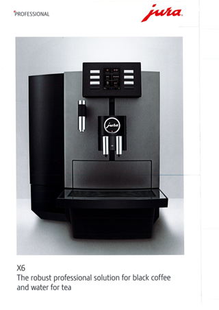 Jura JX6 bean to cup coffee machine