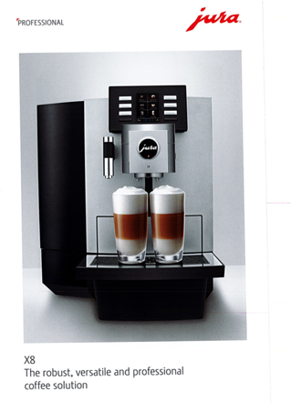 Jura JX8 Coffee machine download