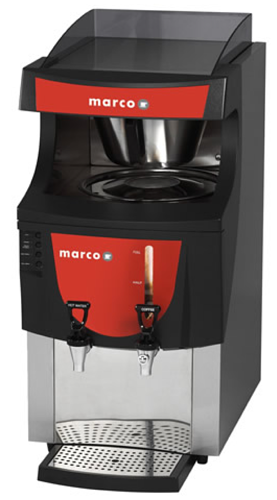 The Marco Qwikbrew is one of our more affordable office coffee machines